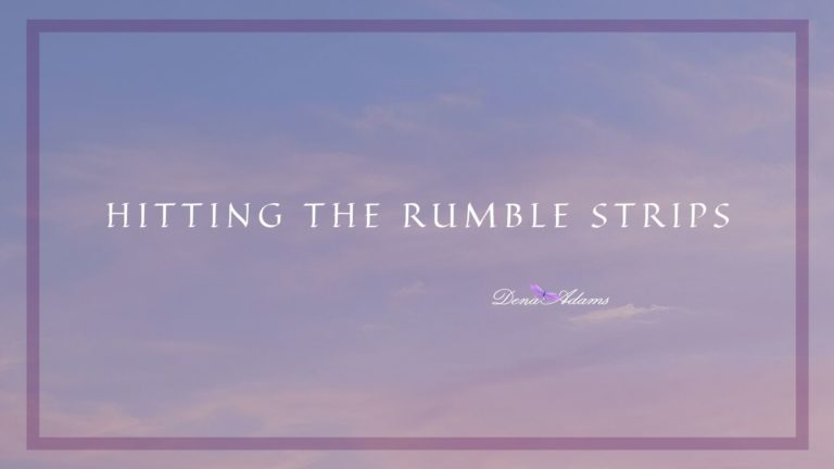 Hitting The Rumble Strips